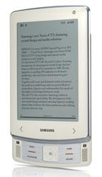 Новый Book Reader - слайдер Samsung E6