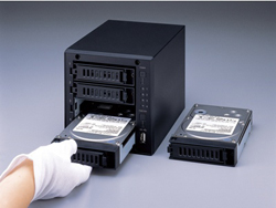 LinkStation Quad - LS-QL/R5 – гарантия безопасности от Buffalo