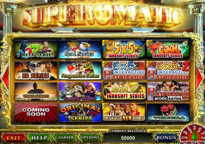 Казино Cупероматик - прибыльная игровая система для запуска игровых клубов